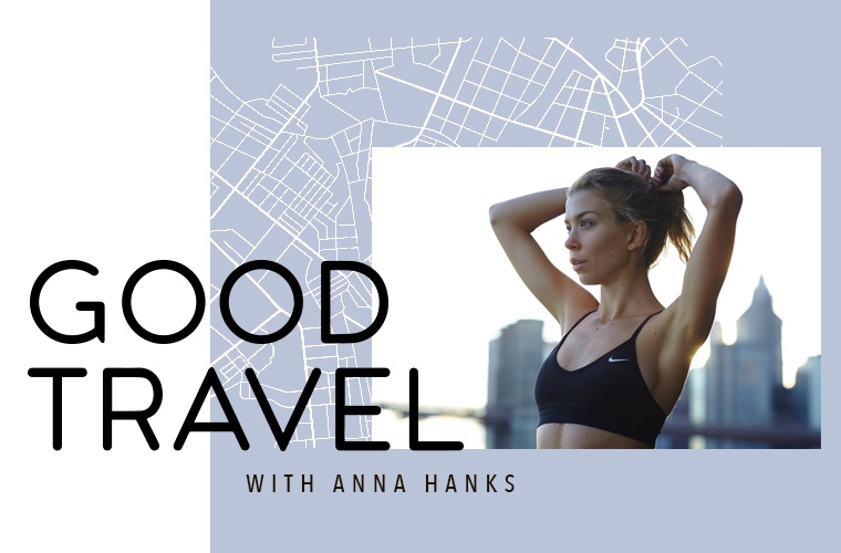 Thumbnail for This jet-setting (and healthy-living) model has some seriously good travel advice