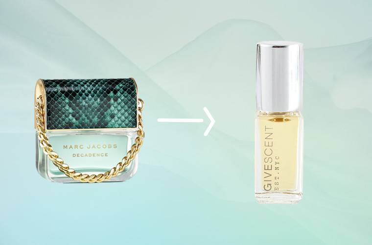 marc jacobs divine decadence givescent