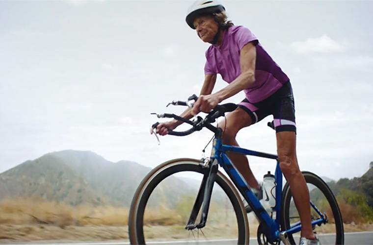 Thumbnail for This 86-year-old triathlete nun is the definition of #goals