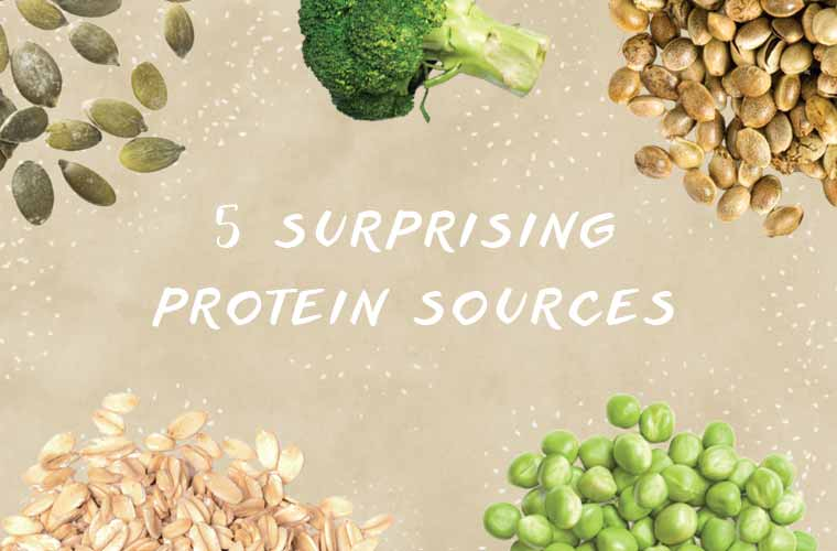 5 surprising (and plant-based) ways to get your protein fix