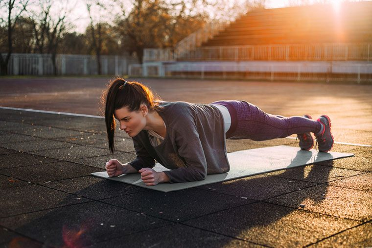 Plank prehab
