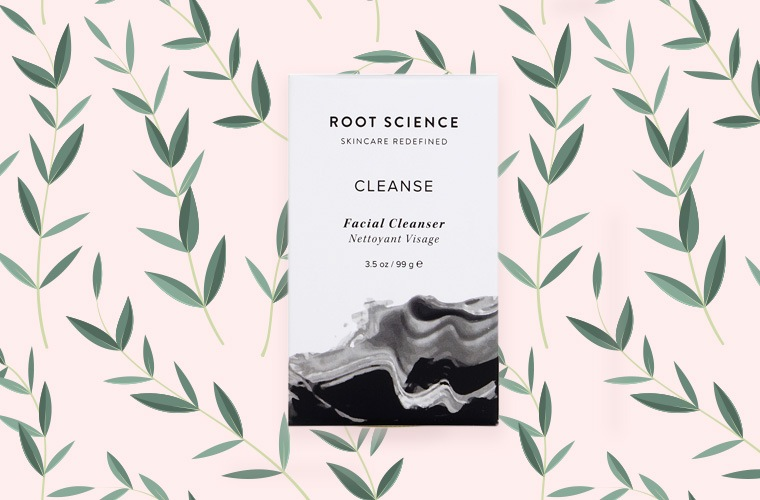 root science facial cleansing bar
