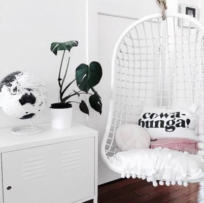 9 spaces that prove you need a Zen-chic swing in your apartment