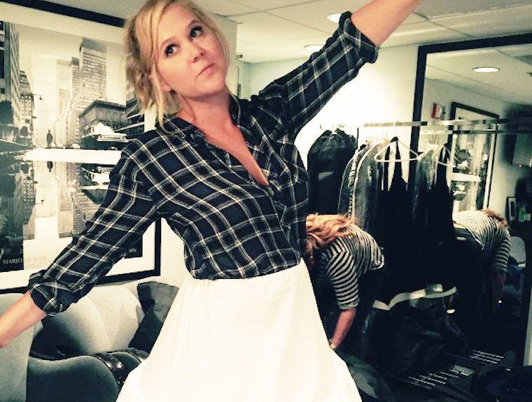 Thumbnail for Amy Schumer's new book reveals some crazy, surprising wellness habits