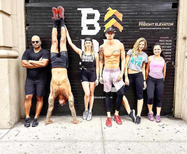 Barry's Bootcamp history