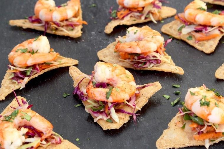 Beanitos shrimp snack