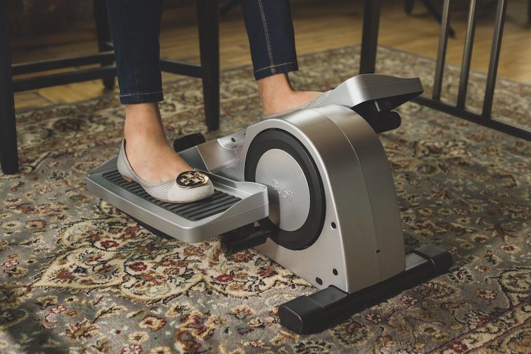 Thumbnail for I spent a week using an at-desk elliptical—here's what happened