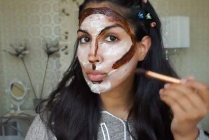 You have to see this Instagrammer's no-makeup contouring tutorial