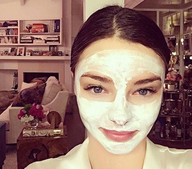Thumbnail for The watermelon-potato face mask that Miranda Kerr's facialist swears by