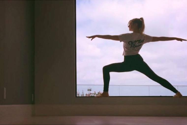 Leah schlackman love yoga