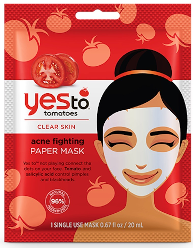 yes to tomatoes sheet mask