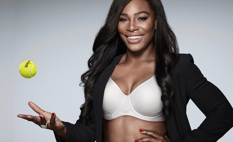 Serena Williams Berlei bras