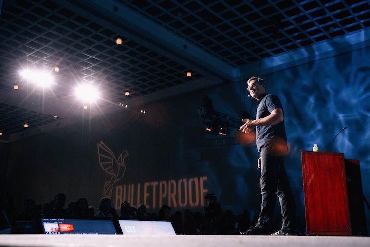 Dave Asprey at the Bulletproof Biohacking Conference 2016