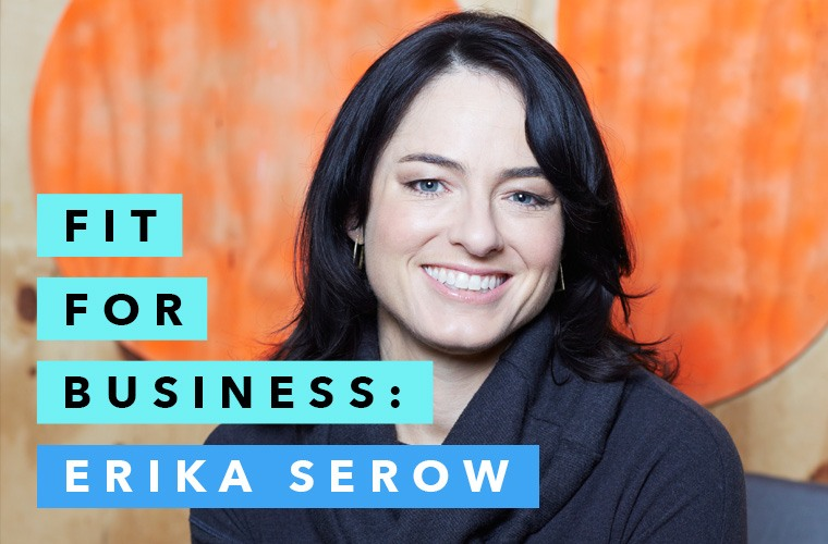 Erika Serow CEO of Sweaty Betty