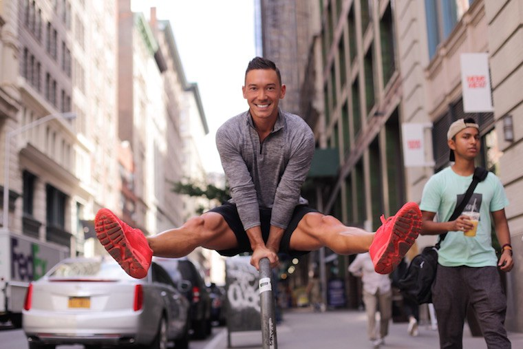 up-and-coming fitness instructors