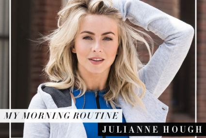 The first thing Julianne Hough does every morning will have you rethinking your entire day