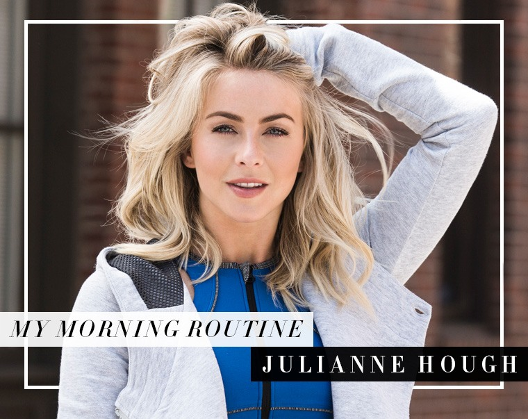 Thumbnail for The first thing Julianne Hough does every morning will have you rethinking your entire day