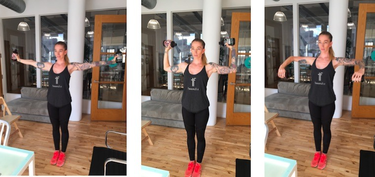 arm-workout-at-work
