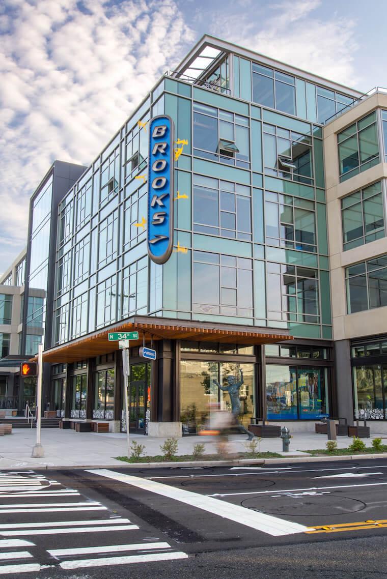 Brooks headquarters Seattle
