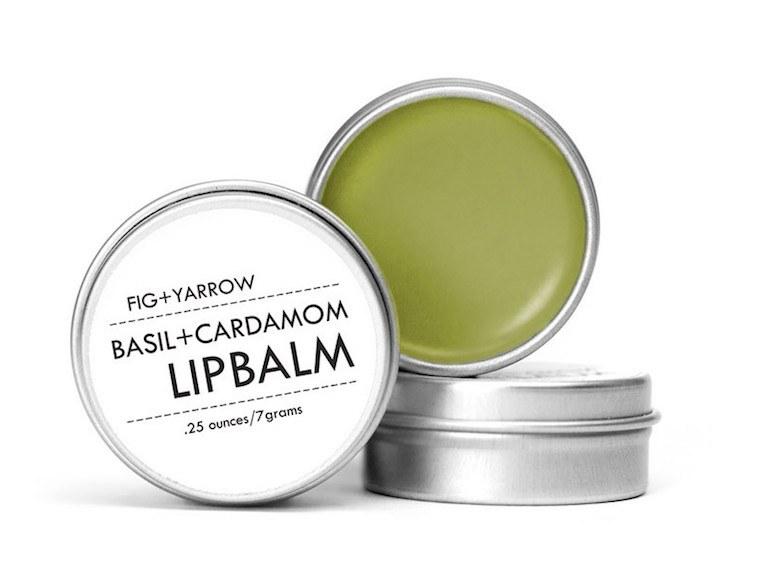 fig yarrow lip balm