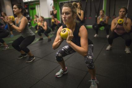 Hey, let's work out together—and raise money to help cancer survivors