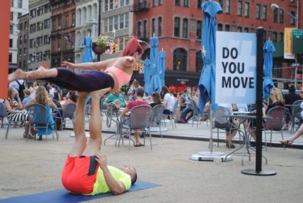 8 awesome moments from our #DoYouMove boomerang challenge in NYC