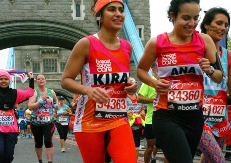 Kiran Gandhi—the menstrual badass of the London marathon—speaks out