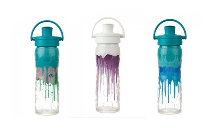 LifeFactory splash water bottle