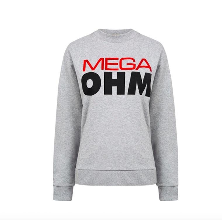 mega ohm boyfriend sweatshirt