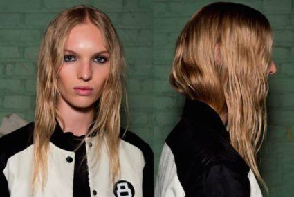 The perfect post-workout hair, inspired by Rag & Bone