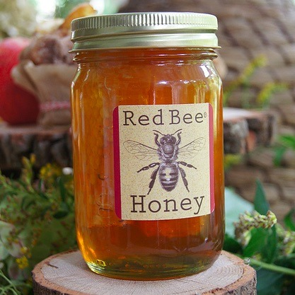 The honey I used in my regimen. Photo: Red Bee