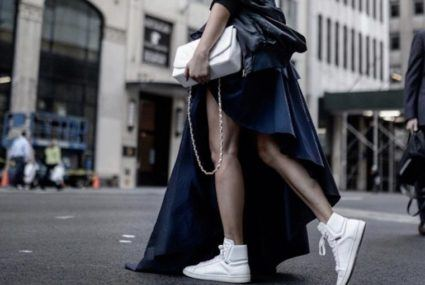 The coolest sneakers for fall, according to the stylish women of New York Fashion Week