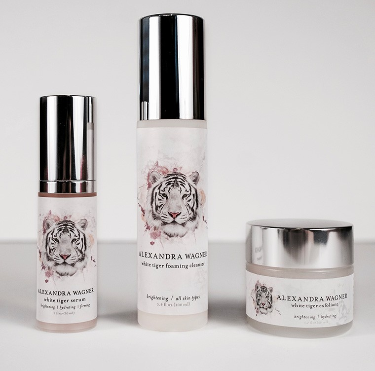 white tiger alexandra wagner skin care