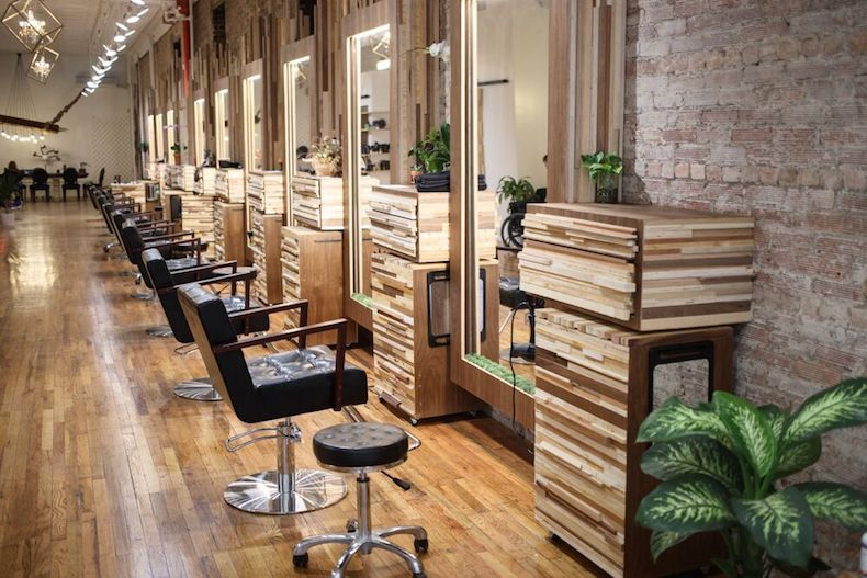 Hairstyle trends from the broome street society hair salon in nyc