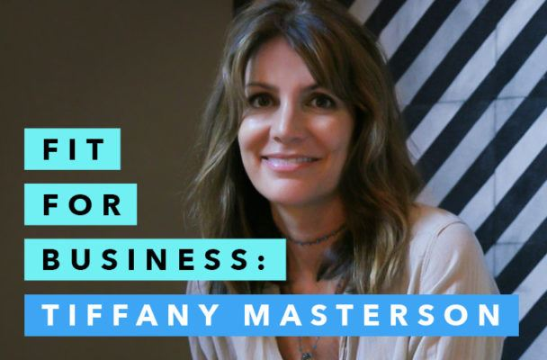 Tiffany Masterson's intoxicatingly straightforward approach to skin care