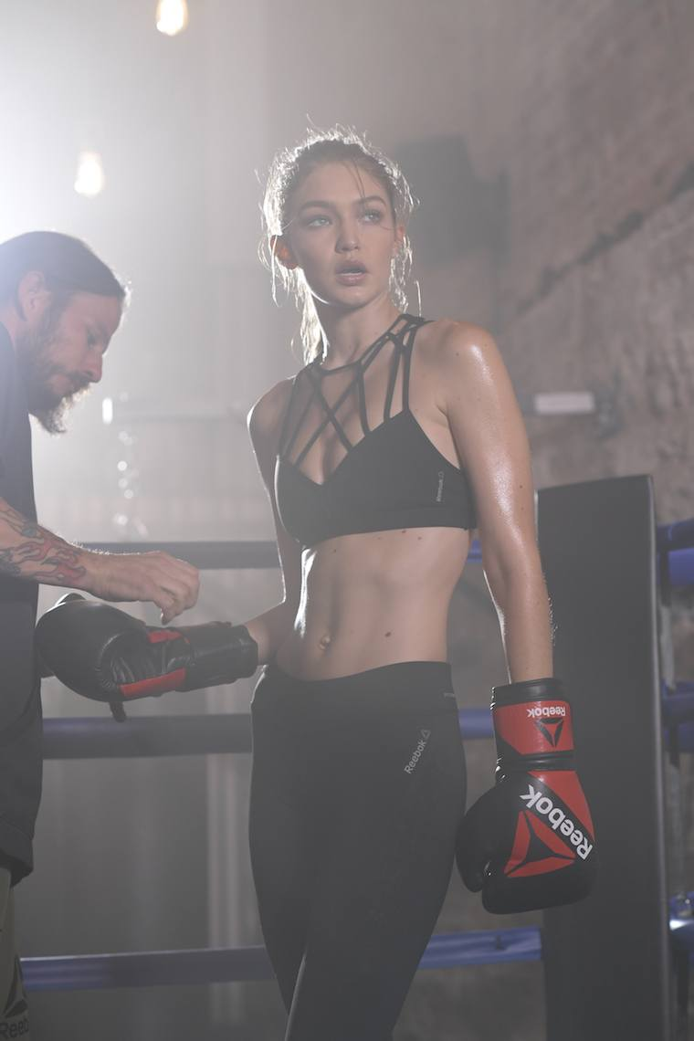 GIGI HADID JOINS FORCES WITH REEBOK TO TELL NEXT PHASE OF BE MORE HUMAN CAMPAIGN_7