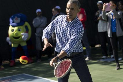 You'll never guess what's on Barack Obama's workout playlist