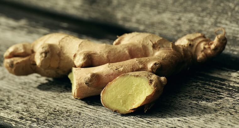 natural nausea relief ginger