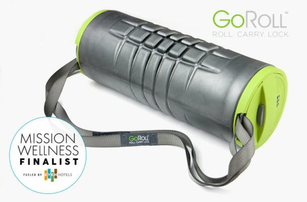 The genius foam roller that doubles as a portable bag