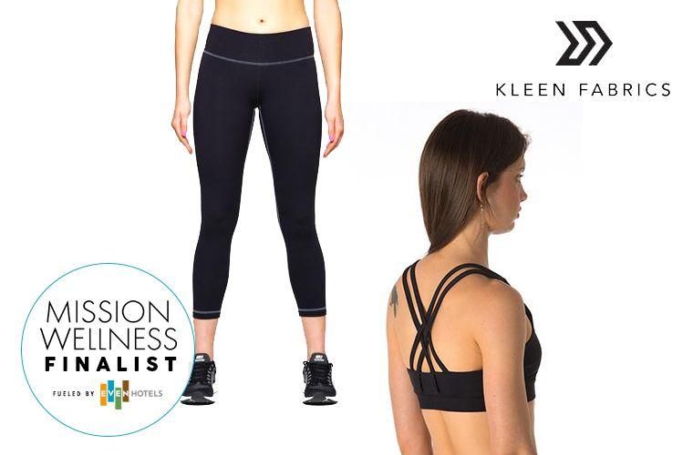 Mission Wellness finalist Kleen Fabrics