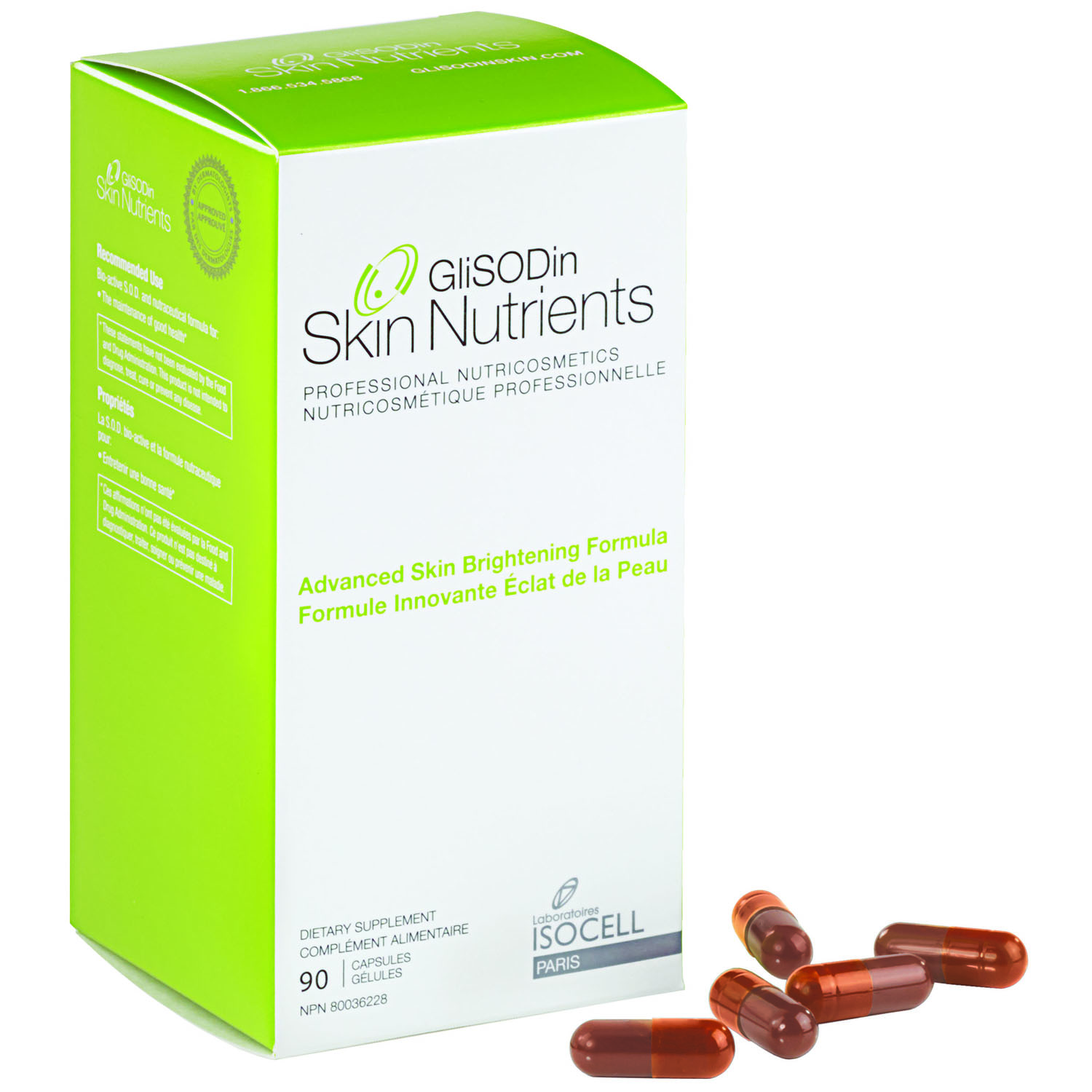 GliSODin glisodin supplements for acne