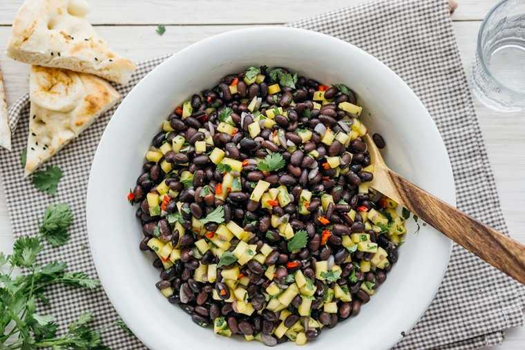 black beans, soy beans, and red kidney beans FODMAP foods