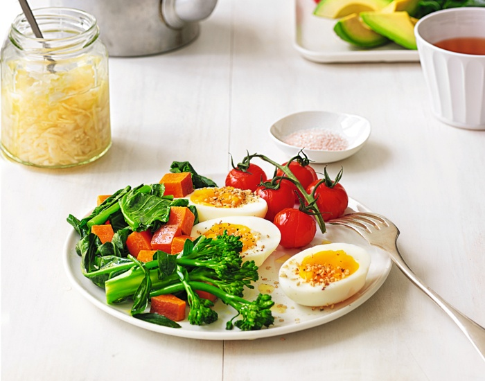 superhuman breakfast