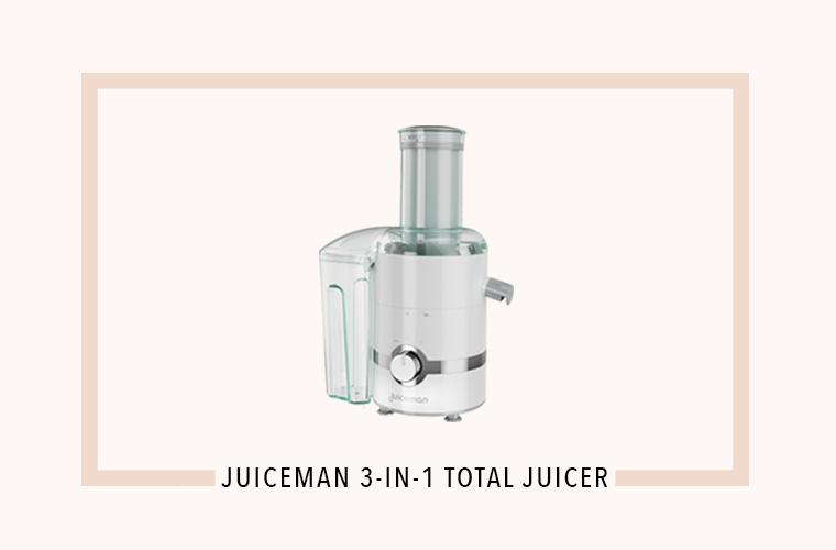 Juiceman 3-in-1 juicer