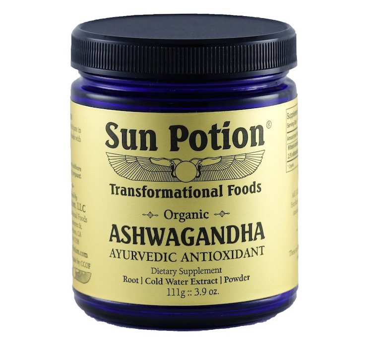 Sun Potion ashwagandha for acne