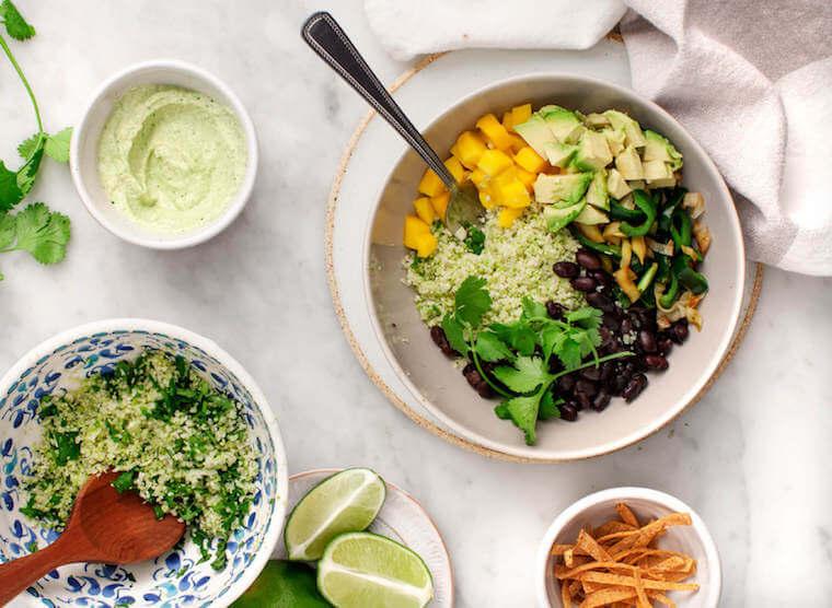 Cauliflower rice recipe Love and Lemons