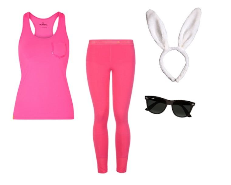 easy last minute halloween costume energizer bunny