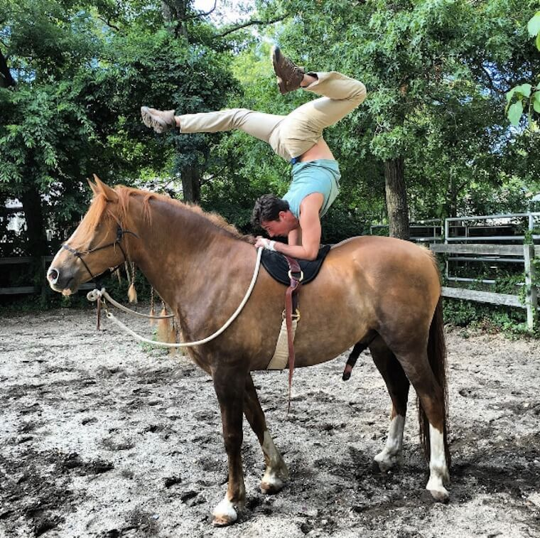 Horseback Yoga Is Now A Thing Well Good