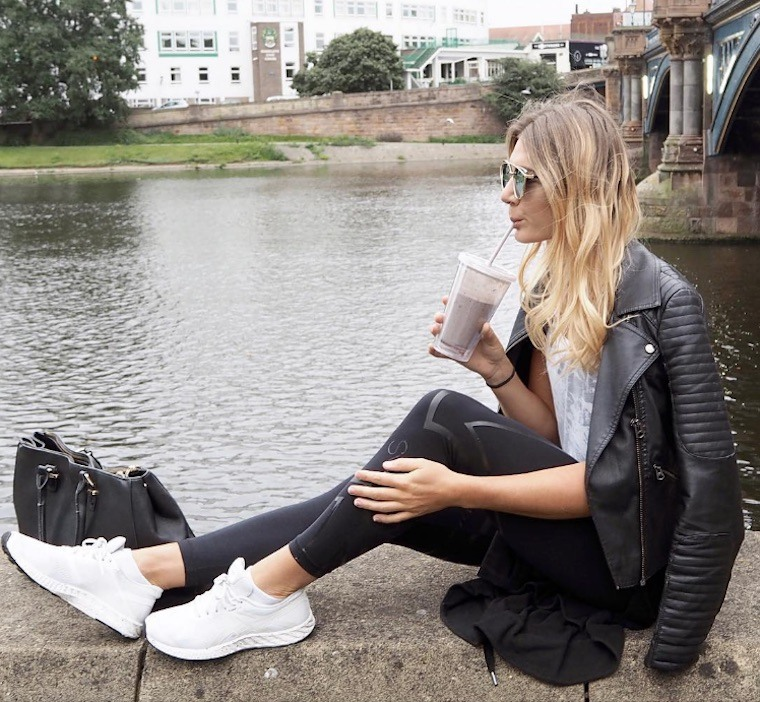 Thumbnail for The perfect legging-and-leather-jacket combos for fall
