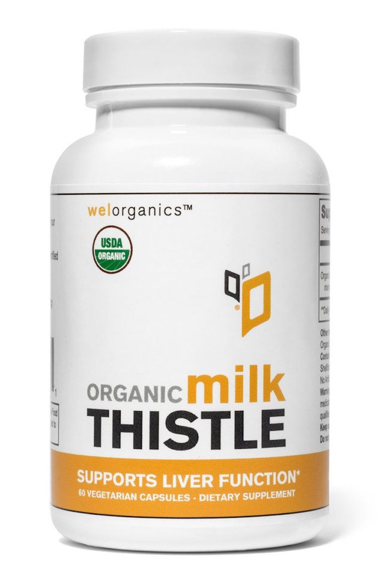 WelOrganics milk thistle for acne